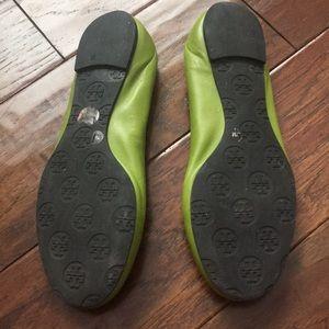 23df0ac836a Tory Burch Shoes - Tory Burch Reva flats in lime green 💚💚💚